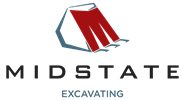 Midstate Excavating Logo